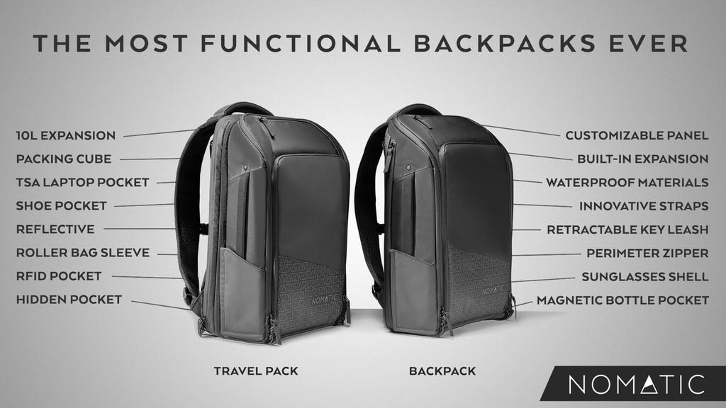 The NOMATIC Backpack and Travel Pack 72ccd978e5c4c