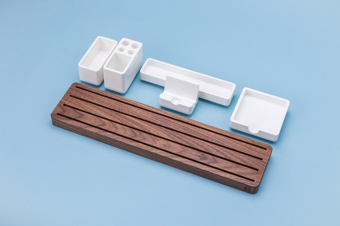 a high quality modular desk organizer