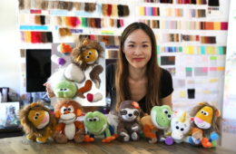 stuffed animals with marissa louie