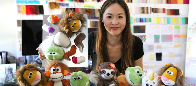 stuffed animals with marissa louie