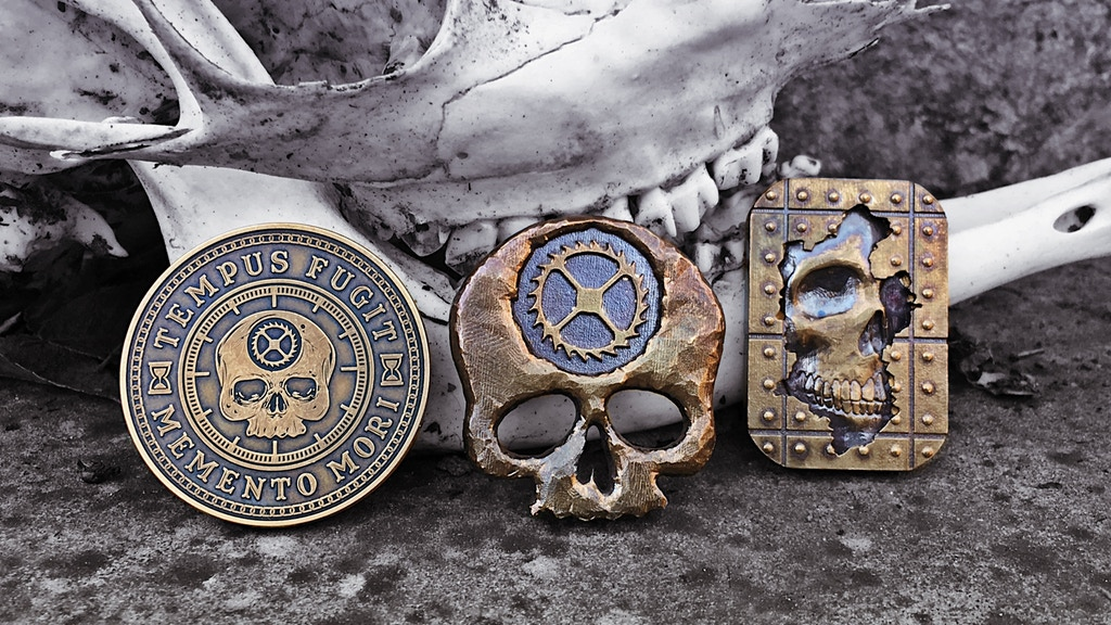 Carpe Diem everyday carry coins by Jim Wirth