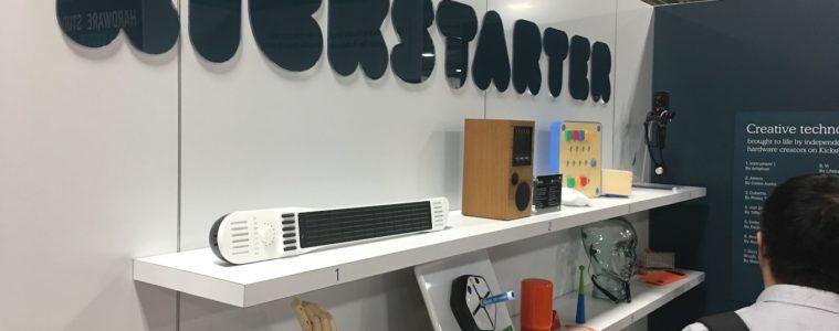 kickstarter at ces 2018 hardware studio