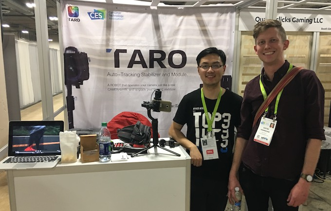 Taro Auto-Tracking Stabilizer for Cameras