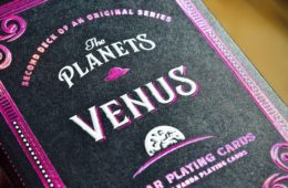the planets venus playing cards