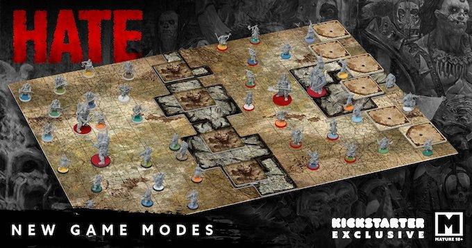 CMON HATE tabletop game Kickstarter