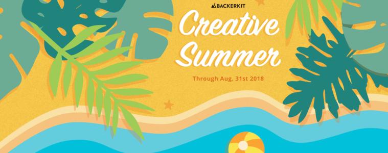 backerkit creative summer 2018