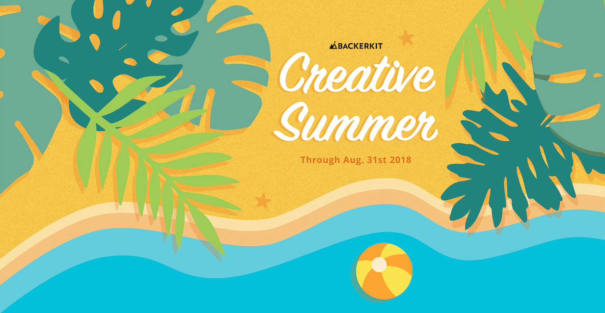 backerkit creative summer 2018
