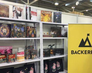 BackerKit at essen spiel 2018