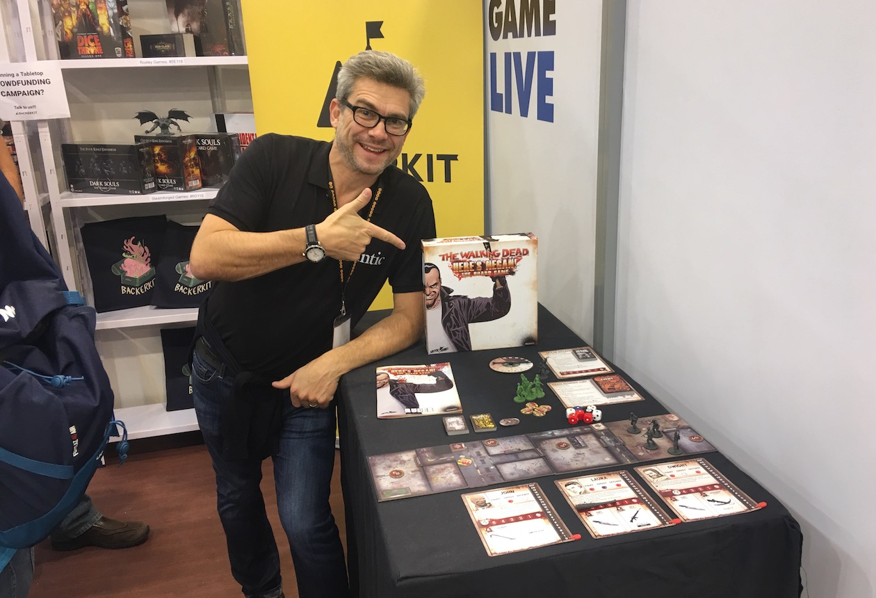 the walking dead board game essen spiel 2018