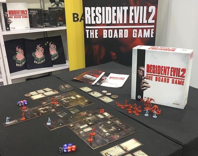 resident evil 2 the board game essen spiel 2018