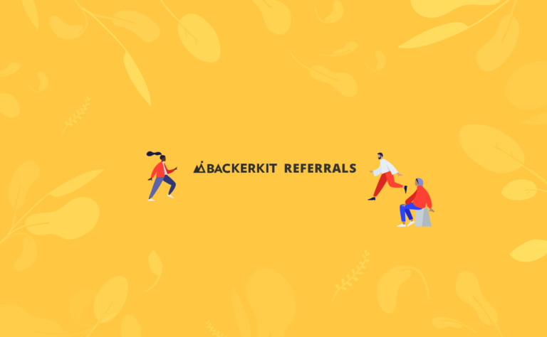 backerkit referrals