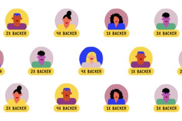get kickstarter backers