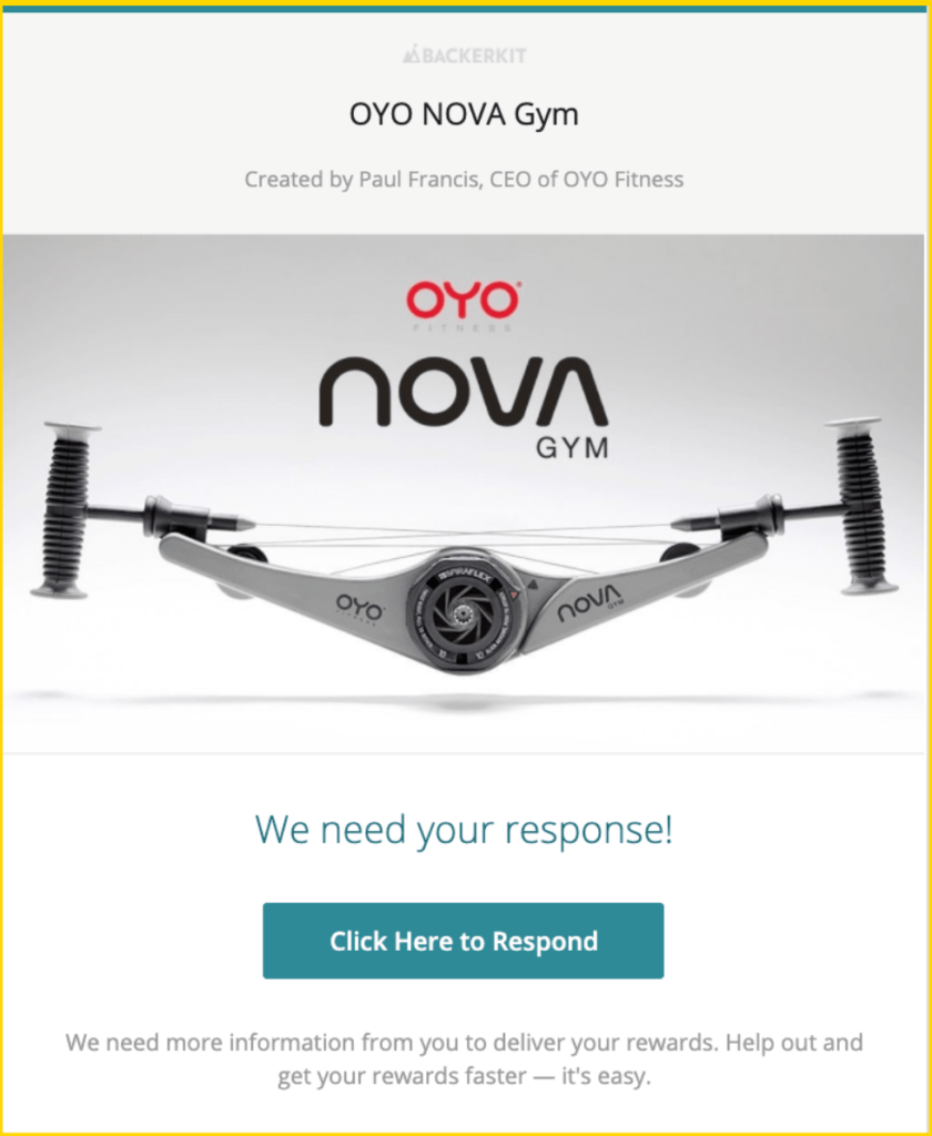 oyo survey backerkit
