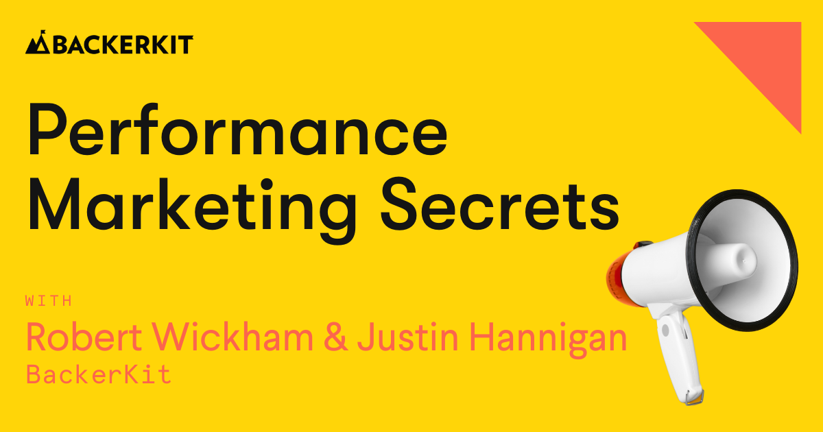 performance marketing webinar