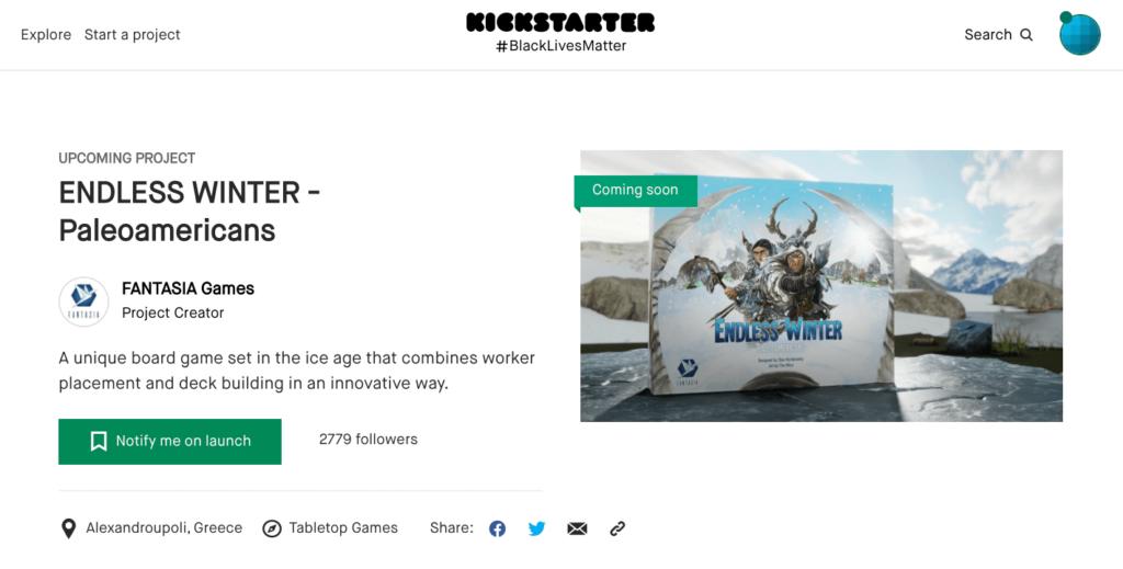 kickstarter checklist