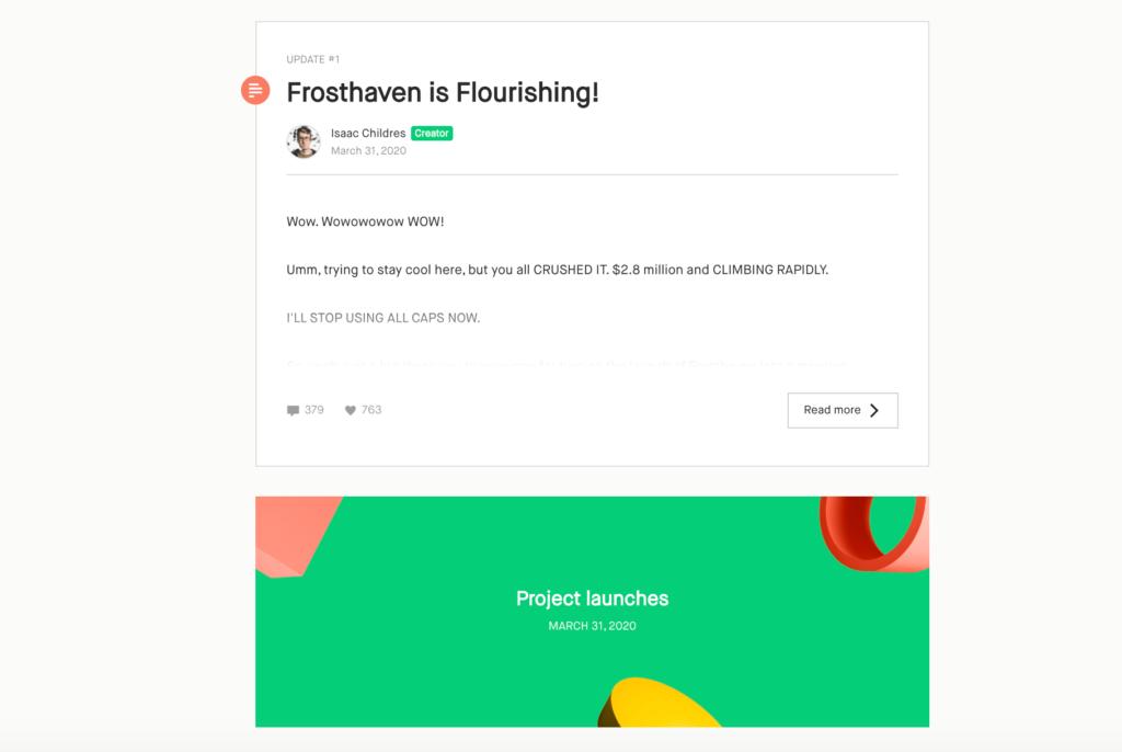 best time to launch a kickstarter