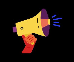 megaphone cta